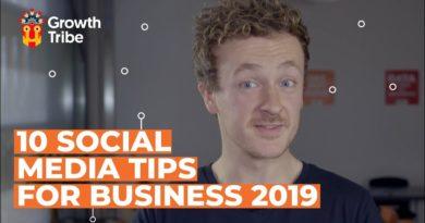 10 Social Media Tips For Business 2019