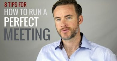 8 Tips for Running More Effective Meetings   The Distilled Man
