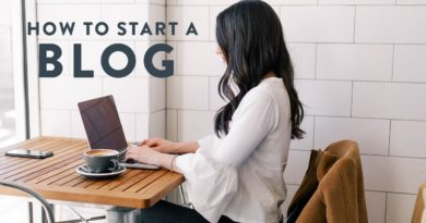 BLOGGING TIPS from a Full Time Blogger   What you need to know before you start a blog