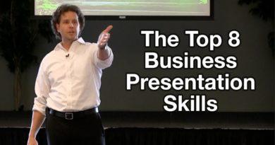 Business Presentation Tips - The Top 8 Business Presentation Skills