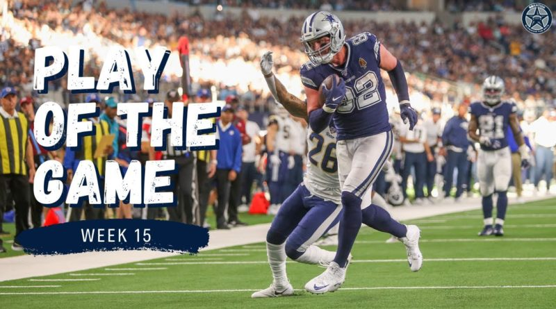 Jason Witten Makes One-Handed Touchdown | Blogging the Boys