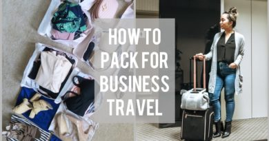 PACKING TIPS For Business Travel