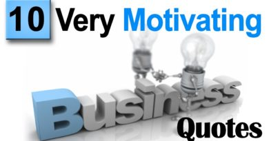 Top 10 motivational Quotes on Business Success