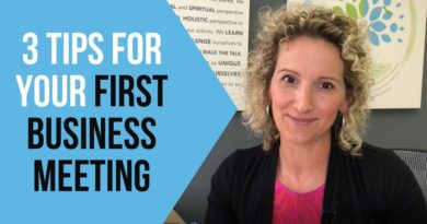 Your First Business Meeting - Tips