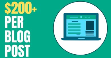 10 Websites That Pay You $200 to Write a Blog Post 2019