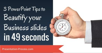 3 PowerPoint Tips to beautify your business slides in 49 seconds