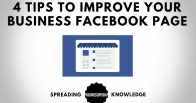 4 Tips To Improve Your Business Facebook Page