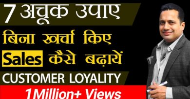 7 Tips To Increase Your Sales | Customer Loyalty | Dr Vivek Bindra