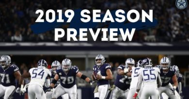 A Look Ahead at the Dallas Cowboys 2019 Season | Blogging the Boys
