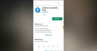 ##ANDROID ACCESSIBILITY SUITE USAGES##