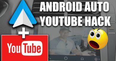 Android Auto Hack Of The Year : Watch Youtube In Your Car