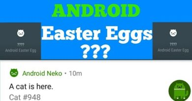 Android Easter Eggs???Secret android Game