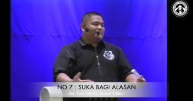 Azizan Osman : 13 Tips untuk berjaya