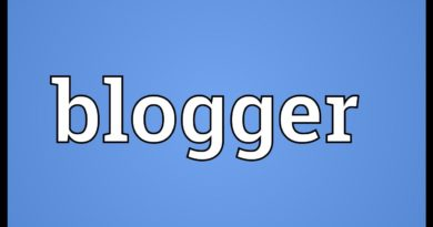 Blogger Meaning