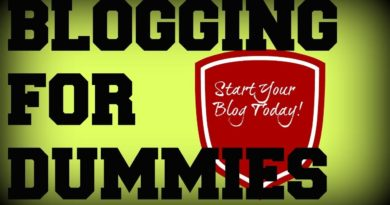 Blogging for Dummies - Easy Step By Step Video Trainings