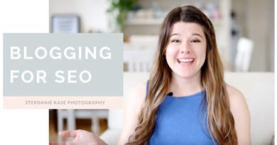 Blogging for SEO Tips for Photographers
