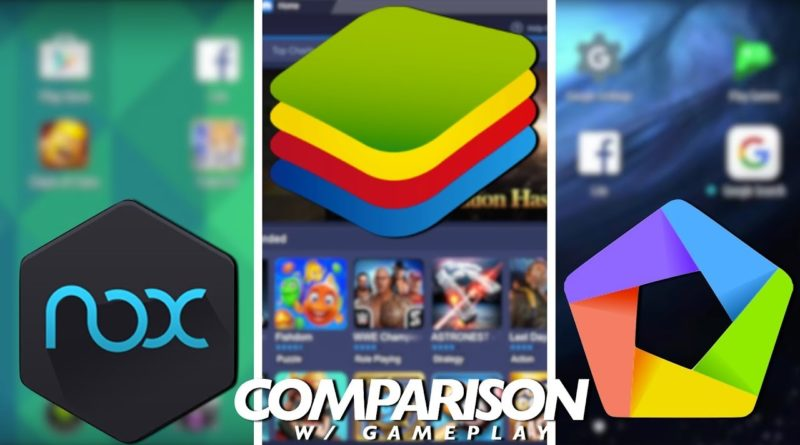 Bluestacks vs Nox vs Memu Comparison // Best Android Emulator on PC