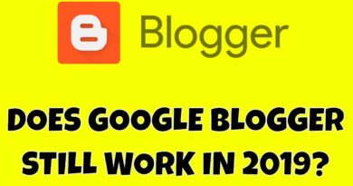 Can Google Blogger .Blogspot Blogs Nonetheless Drive Visitors & Make Cash in 2019? 🤑💰🤑 7