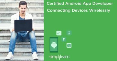 Connecting Devices Wirelessly | Android Application Development