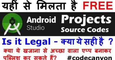 🔴 Obtain Free Android Studio Tasks 2019 | Android Studio Supply Code Free Obtain #codecanyon 7