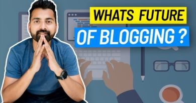 Future of Blogging: Every Blogger Needs To Watch this (ShoutMeLoud) ✅