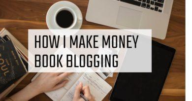 How I Monetized My Book Blog