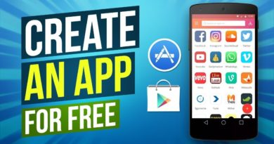 How To Create An App For Free - Create Your Own App In Just A Few Minutes