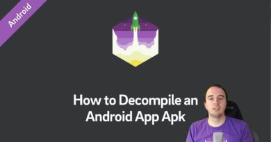 How to Decompile an Android App Apk (Android Tutorial)