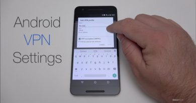 How to Setup an Android VPN connection