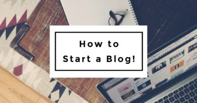 How to Start a Blog | Blogging 101