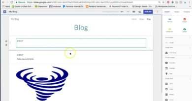 How to Use Google Sites to Create a Blog