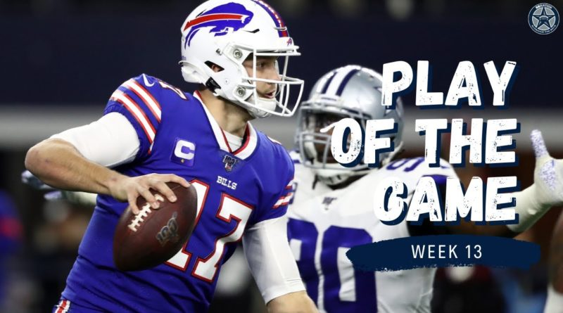 Jourdan Lewis Sack Stops Bills' Drive | Play of the Game | Blogging the Boys