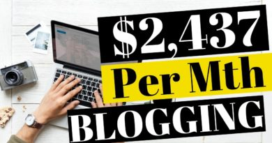 MAKE MONEY BLOGGING: I MADE $2,437 IN MY FIRST MONTH