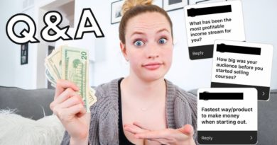 MONEY MAKING Q&A: Fastest way to make money blogging, most profitable income stream, & more