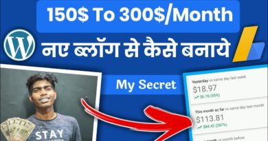 Make 150$-300$/Month From New Running a blog Website🔥( NEW BLOGGER'S ) Incomes Trick 8