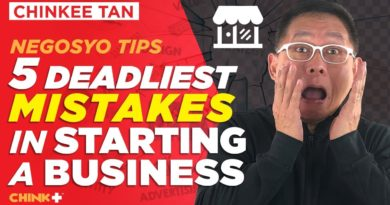 Negosyo Tips :5 Deadliest Mistakes In Starting a BUSINESS