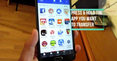 (Old) How to transfer android apps from phone to smart tv (Updated Video is up in the description)