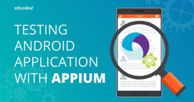 Testing Android Applications With Appium | Appium Tutorial For Mobile Testing | Edureka