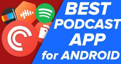 The BEST Podcast Apps for Android!