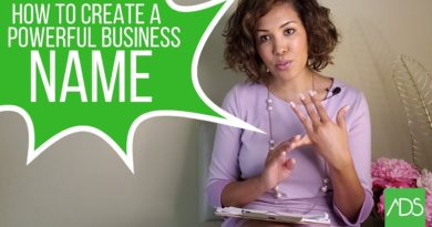 Tips on Naming Your Business: How to Create a Powerful Business Name