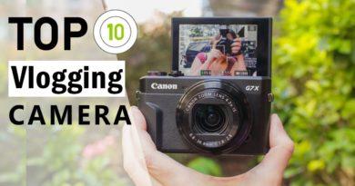 Top 10 Best Camera For Vlogging & Youtube