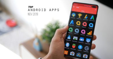 Top 7 Must Have Android Apps - Nov2019
