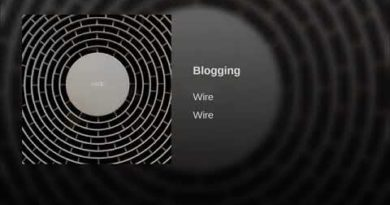 Wire-Blogging