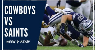 Yes, the Cowboys Lost. No, You Shouldn't Worry | Week Four Recap | Blogging the Boys