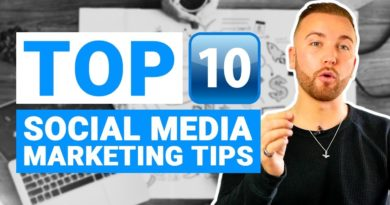 10 Social Media Marketing Tips For Small Businesses