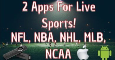 2 Apps For Streaming Live Major Sports On Amazon, iOS, Android! NBA, NHL, NFL, MLB, NCAA Football
