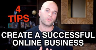 4 TIPS FOR BUILDING A SUCCESSFUL ONLINE BUSINESS