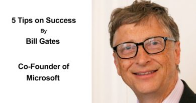 5 Tips On Success By Bill Gates | Advice For Business Success From a Billionaire