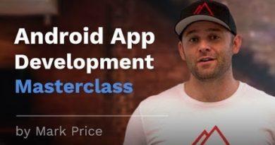 Android App Development Masterclass