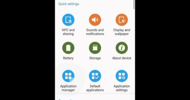 Applications manager, permission of Android 6.0 on Samsung Galaxy Note 4 N910C official